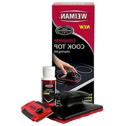 Weiman Complete Cook Top Cleaning Kit - Cook Top Cleaner and