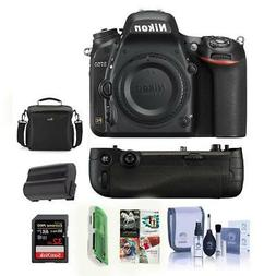 Nikon D750 DSLR Body Only Camera Includes Nikon MB-D16 Grip