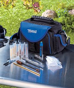 Gunmaster Deluxe Pistol Range Bag with Gun Cleaning Kit