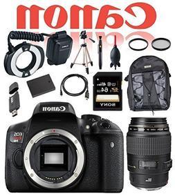Canon Dental and Dermatology Kit EOS Rebel T6i DSLR Camera