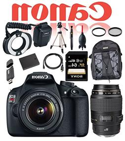 Canon Dental and Dermatology Kit Rebel T5 DSLR Camera with E