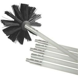 Deflecto DVBRUSH12K/6 Dryer-Duct Cleaning Kit - 12ft