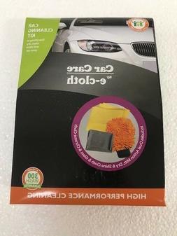 E-Cloth E-Auto Car Cleaning Kit - 3 Piece Kit