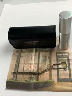 OLIVER PEOPLES EYEGLASS CLEANING KIT NEW WHIT CLOTH AND TOOL