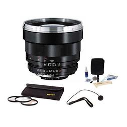 Zeiss 85mm f/1.4 Planar T* ZF.2 Manual Focus Lens Kit, for N