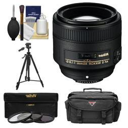 Nikon 85mm f/1.8G AF-S Nikkor Lens with 3 UV/CPL/ND8 Filters