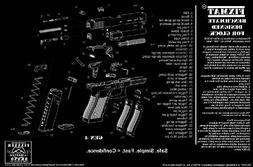 fixxxer fixmat featuring glock diagram , 11 x 17 handgun cle