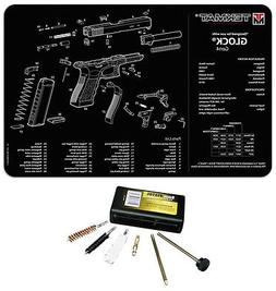 For Glock GEN 4 Tek Mat Armorers Cleaning Mat COMBO KIT With