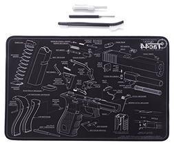 Tac44 Glock Gun Cleaning Mat & Tools | Glock Diagram | Glock