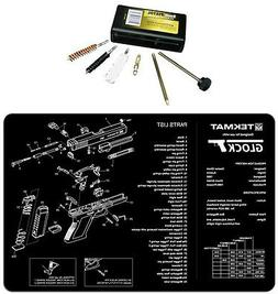 For GLOCK TekMat Armorers Bench Mat  & UTG 9MM Pistol Cleani