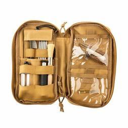 Gun Cleaning Kit, .7.62 caliber, 12 items, fabric case