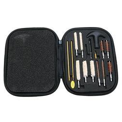 16pcs Gun Cleaning Kit Case Universal For 22 357 38 40 44 45