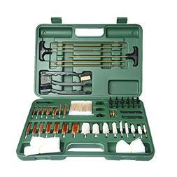 Onvian Gun Cleaning Kit, Universal Caliber Brushes Tips Jags