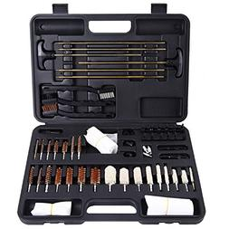 Ohuhu Gun Cleaning Kit 58 Pieces Tips and Jags for Hand Gun,