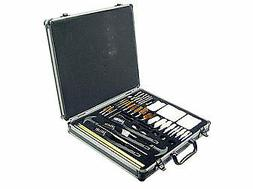 Outers Gun Cleaning Kit Universal 62 Piece Aluminum Case OUT