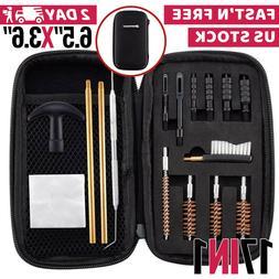 Gun Cleaning Kit Universal Supplies For Hunting Rifle Handgu
