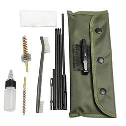 NEW Gun Cleaning Kits Rifle Gun Bore Cleaning Kit Set Shotgu