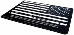 "Ultimate Rifle Build Gun Cleaning Mat 11""x17"" - Distressed F"