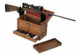 Gun Cleaning Toolbox Kit Rifle Rack Wooden Tool Box Universa