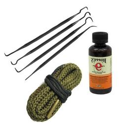 9mm Quality Gun / Pistol Cleaning Snake with Hoppes Cleaner