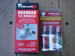 handgun cleaning lubricant degreaser kits: Kleenbore, SLIP20