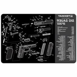 TekMat Sig Sauer SP2022 Cleaning Mat/11 x 17 Thick, Durable,