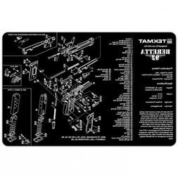 TekMat Beretta 92-M9 Cleaning Mat / 11 x 17 Thick, Durable,