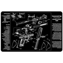 TekMat Smith & Wesson M&P Cleaning Mat / 11 x 17 Thick, Dura