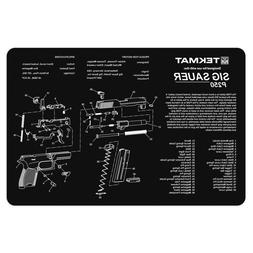 TekMat Sig Sauer P250 Cleaning Mat / 11 x 17 Thick, Durable,