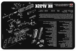 """TekMat Heckler & Koch VP9SK Gun Cleaning Mat / 11"""" x 17"""" / 3"""