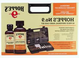 Hoppe's No.9 Universal Gun Cleaning Kit 62Pc Set with Hard S