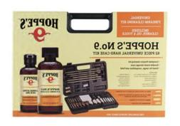 HOPPES NO 9 Firearm Cleaning Kit 62 Piece Cleaner/ Oil/ Brus
