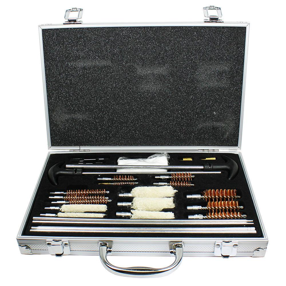 103pc pro universal gun cleaning kit pistol