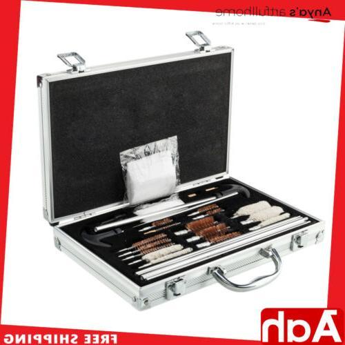 126pcs gun barrel cleaning kit pro universal