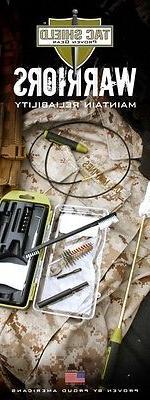 Tac Caliber Rifle Kit Brush/Patches/Rod/Tool