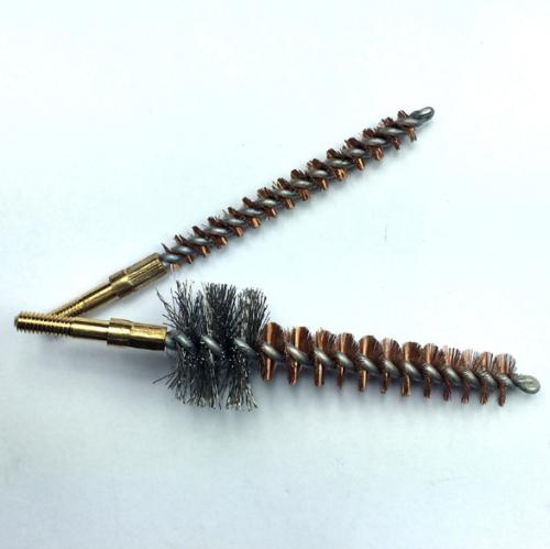 13 Rifle Cleaning Kit Bronze CHAMBER BRUSHES w/ Case ,
