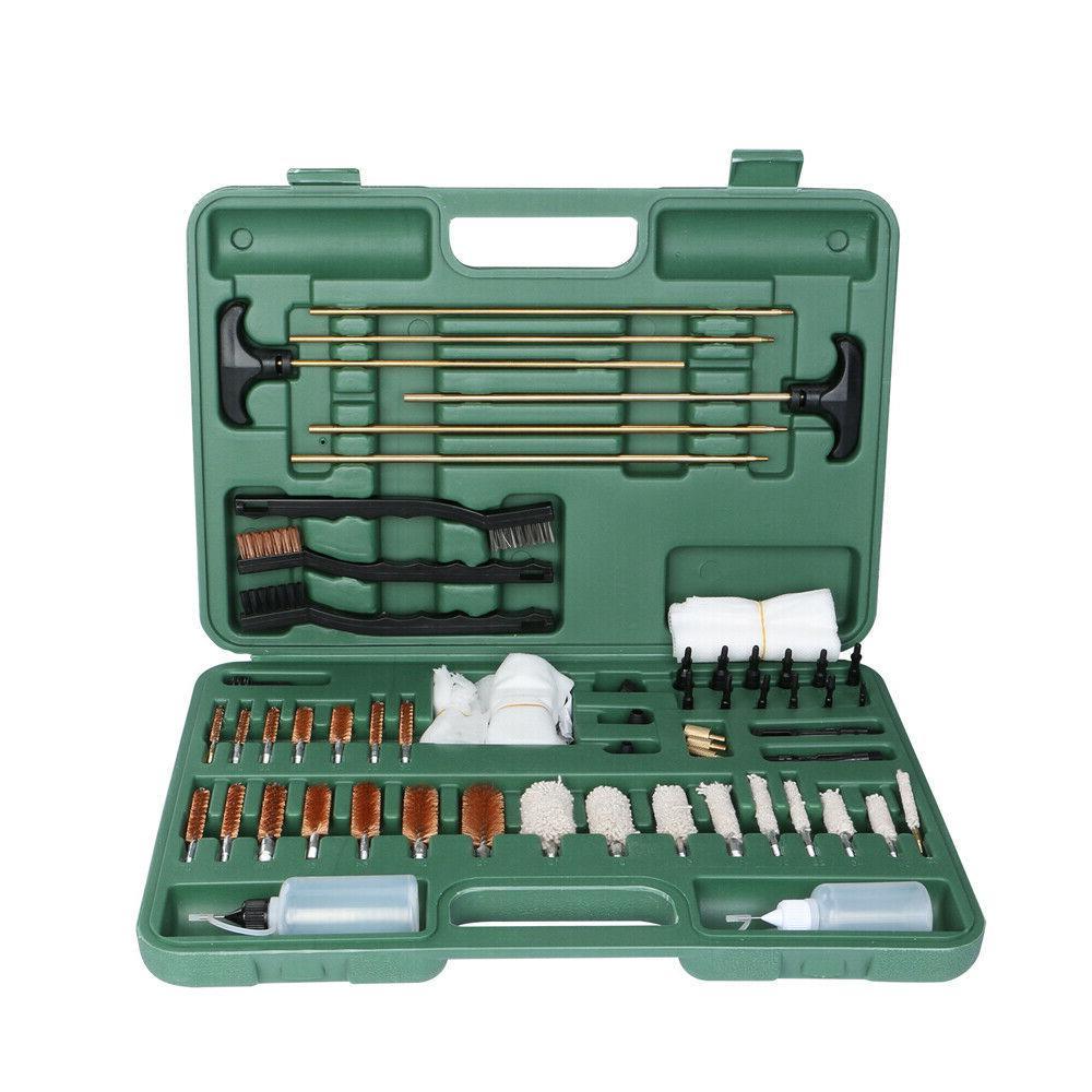 163 pcs gun cleaning kit w pro