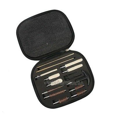 16X Pistol Cleaning Kit Carrying Case Caliber Hand 357
