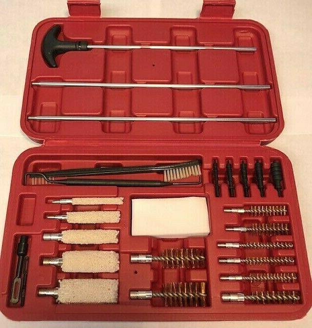 28 piece gun cleaning kit new