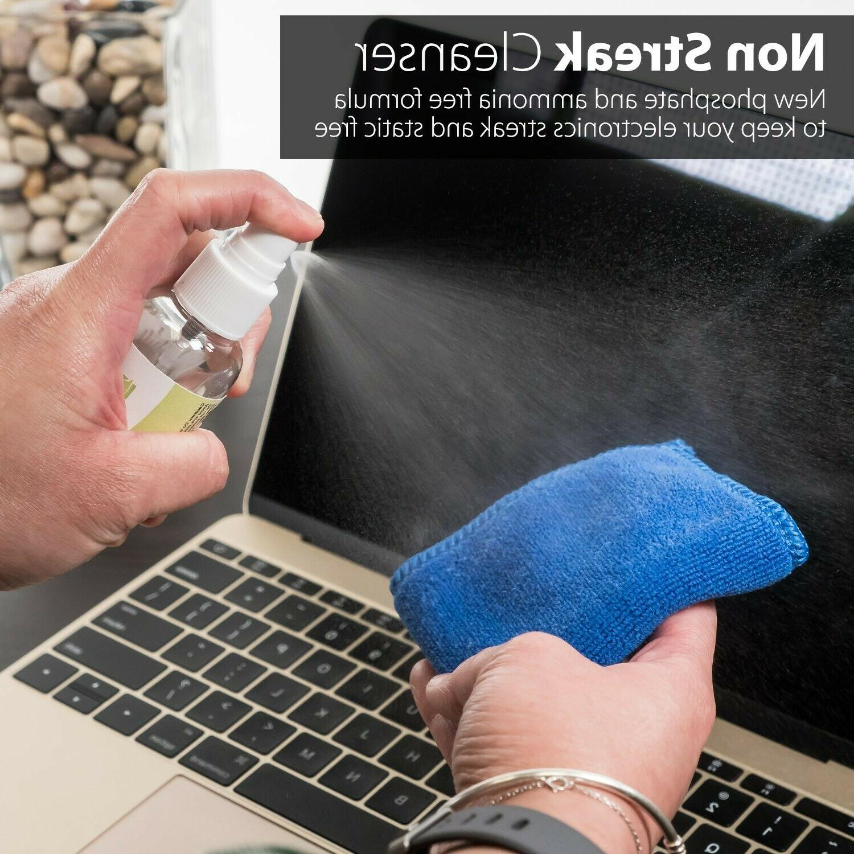 2x Kit Cleaner Cloth Wipe Camera