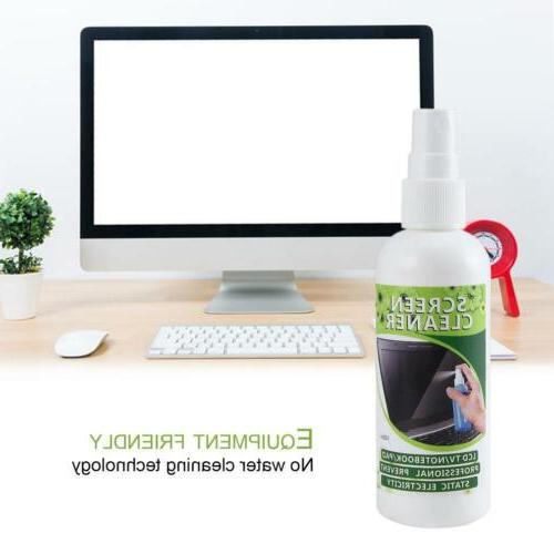 3-in-1 LED LCD Monitor Screen Cleaner Cleaning Brush Kit