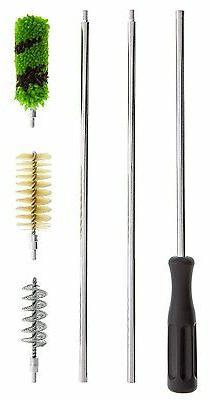 6 piece aluminum rod shotgun cleaning brush