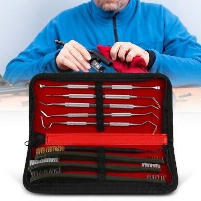 9x pistol cleaning kit carrying case
