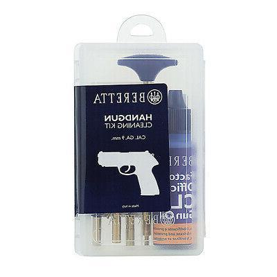 Beretta Basic Cleaning Kit 9Mm Handgun Clampacked