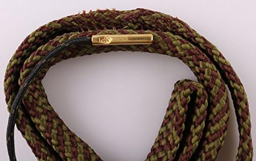 New Bore Cleaner Cal Barrel Cleaning Rope Brass Brush