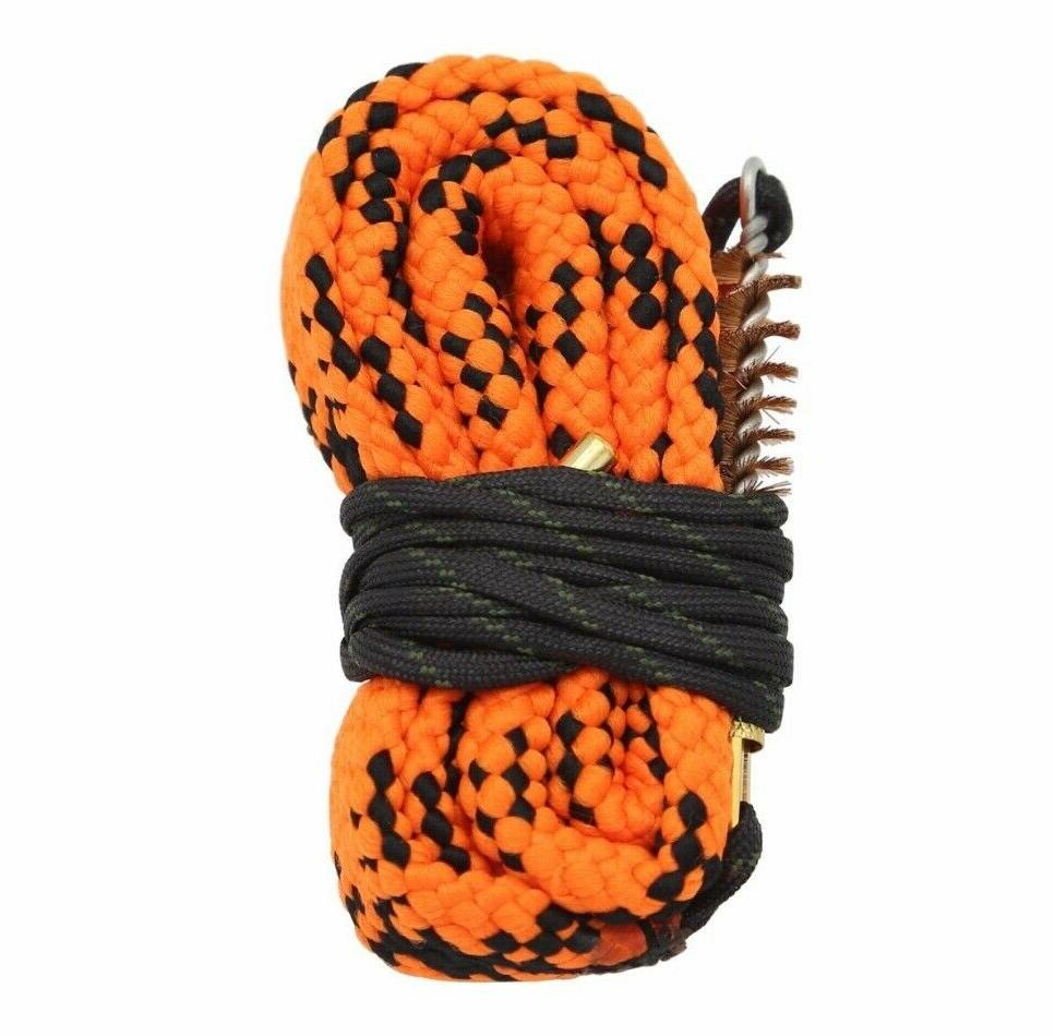 bore rope rifle cleaning cleaner snake calibre
