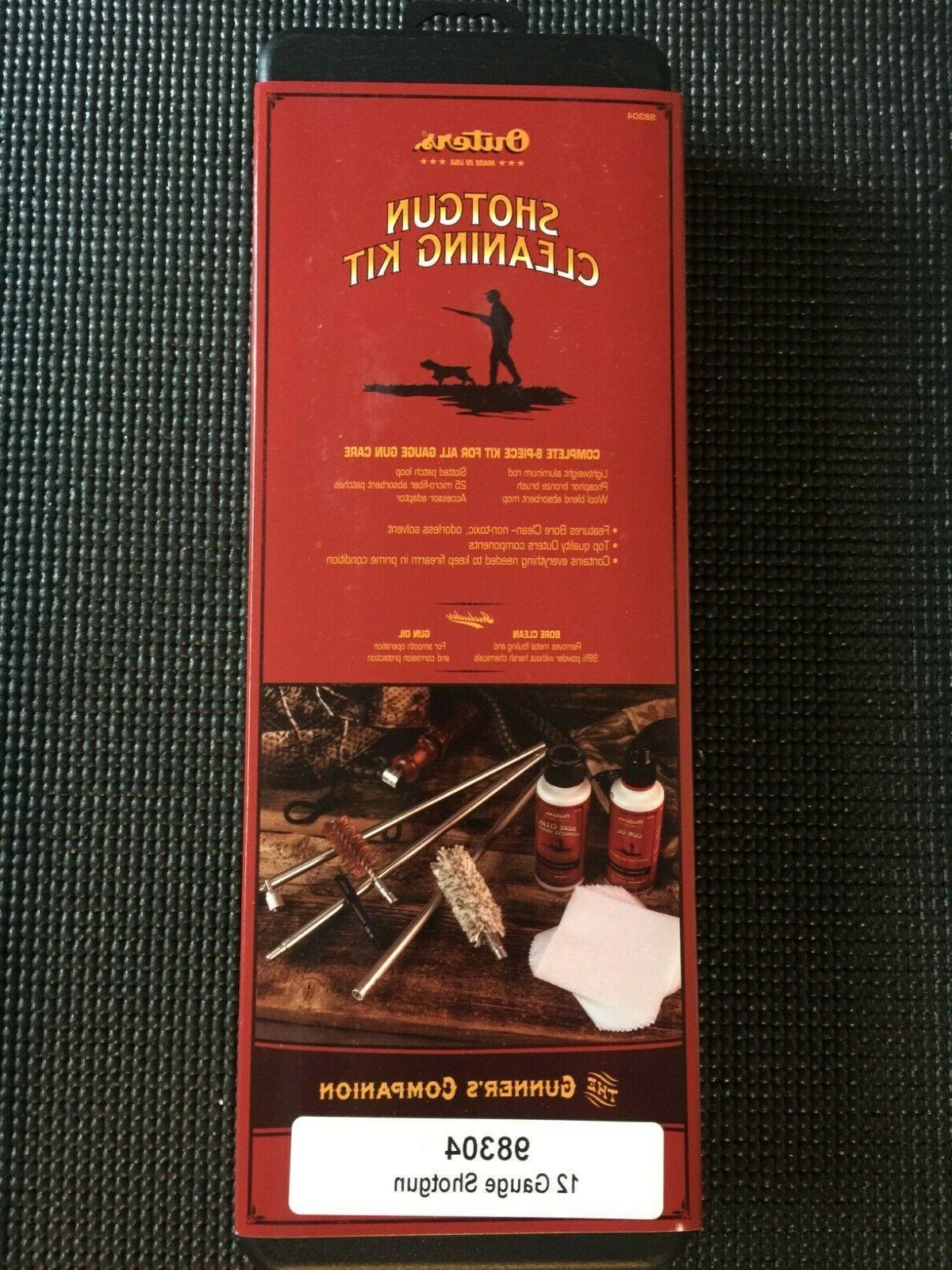 boxed cleaning kit for 12 gauge shotgun