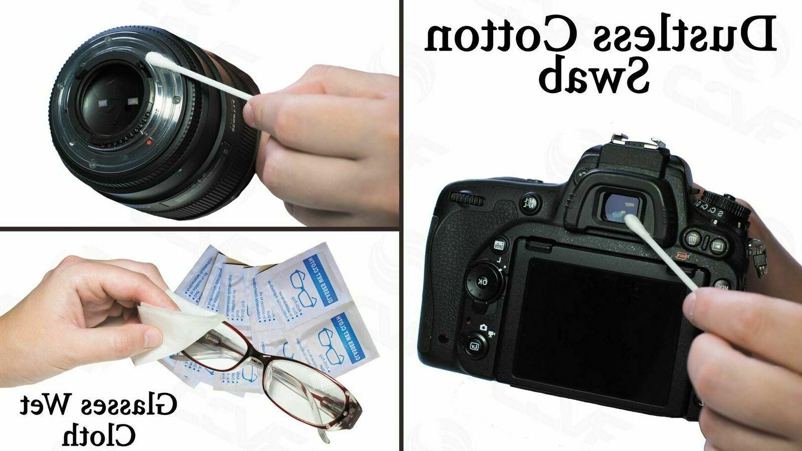Camera Lens Cleaning Set Mirrorless