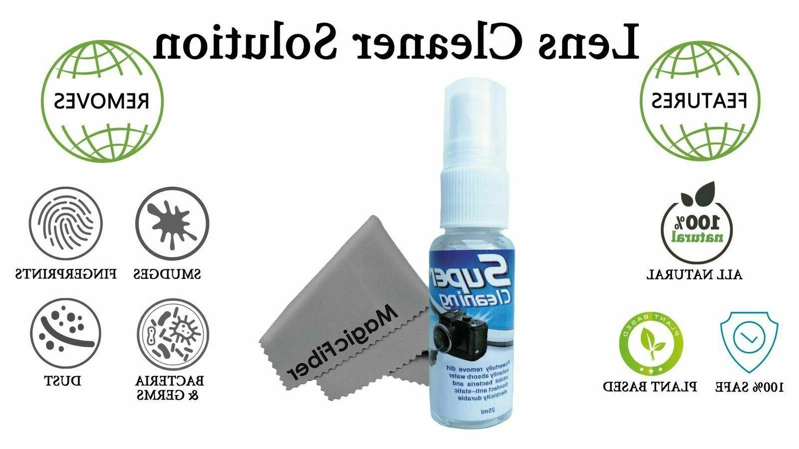 Camera Lens Cleaning Kit DSLR Cleaner Pen Set Canon Mirrorless