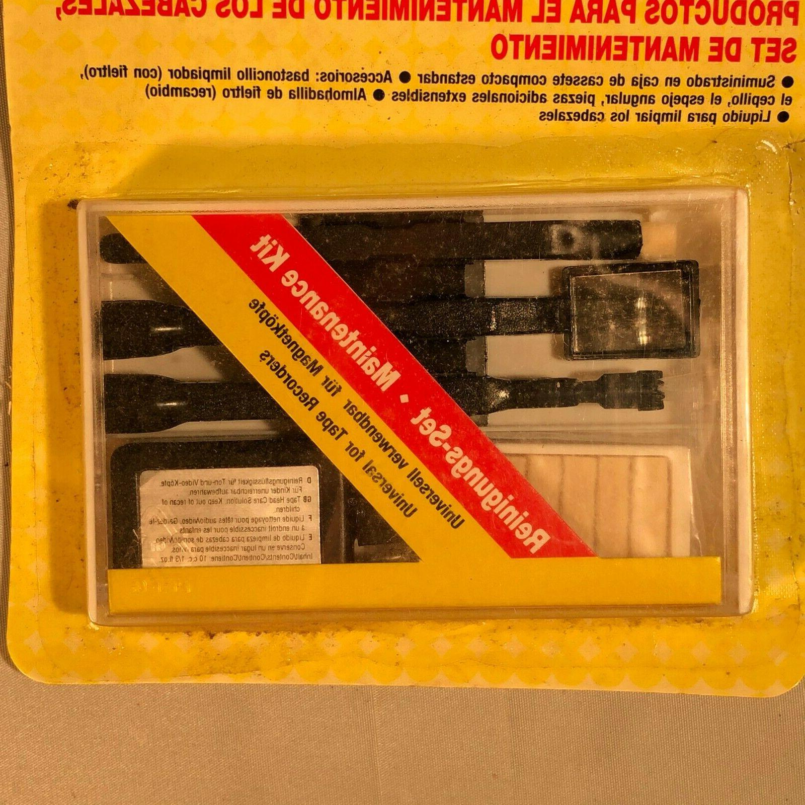 Cassette Tape Audio Maintenance Kit Care Radio Car - A65